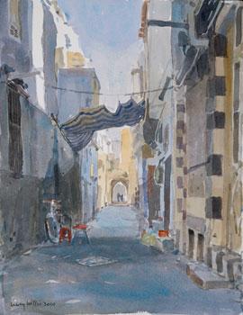 Backstreet in Damascus