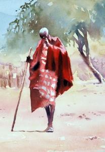 Maasai-chief