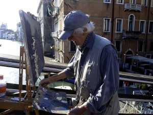 Painting Venice with artist Ken Howard