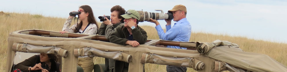 Action shots with Simon King in The Mara