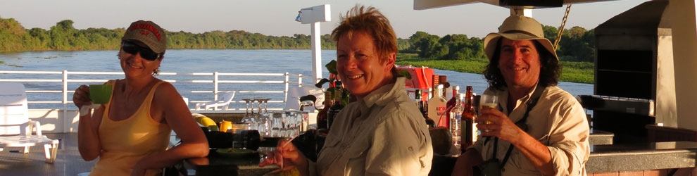 Private safaris with exclusive use of camps and floating hotels