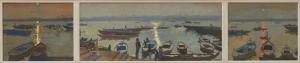 874 Varanasi Triptych