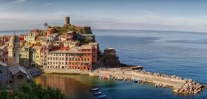 Panorama Vernazza, Cinque terre.