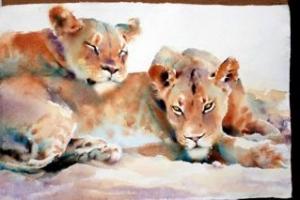Hazel Soan lions