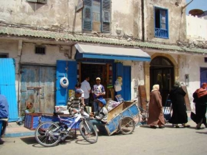 Streets of Essaouira in Morocco - Paint the varied landscapes and village life