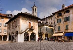 Old church in Orta San Giulio