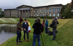 Behind the scenes of BBC Four's - The Story of Scottish Art