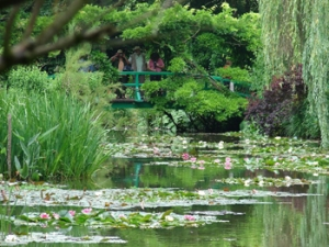 Monet's Famous Gardens at Giverny in Haute-Normandie