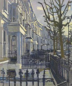 New Exhibition from artist Ken Howard in London celebrating his love of the city and Venice