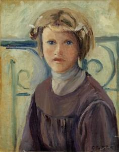 Gustave Caillebotte - Fillette au balcon
